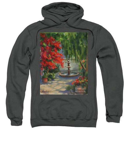 Relaxing In The Courtyard Sweatshirt