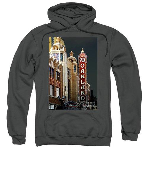 Fox Theater . Oakland California Sweatshirt