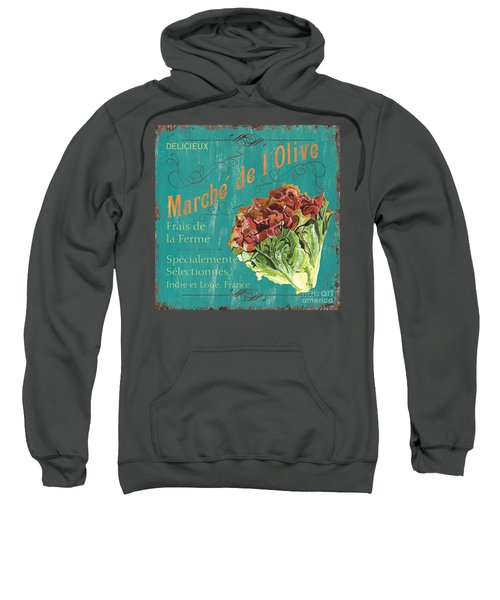 French Market Sign 3 Sweatshirt
