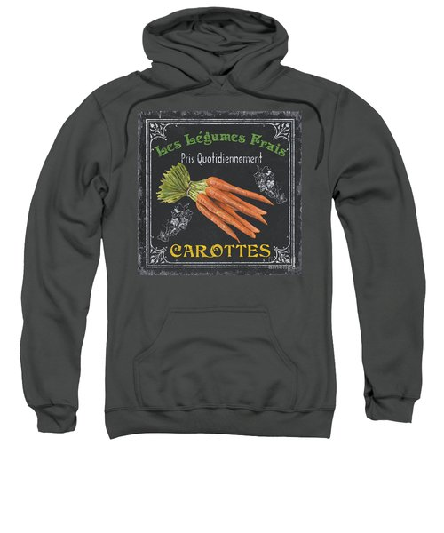 French Vegetables 4 Sweatshirt by Debbie DeWitt