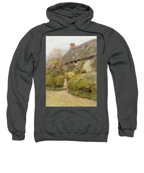Freshwater Cottage Wc On Paper Sweatshirt