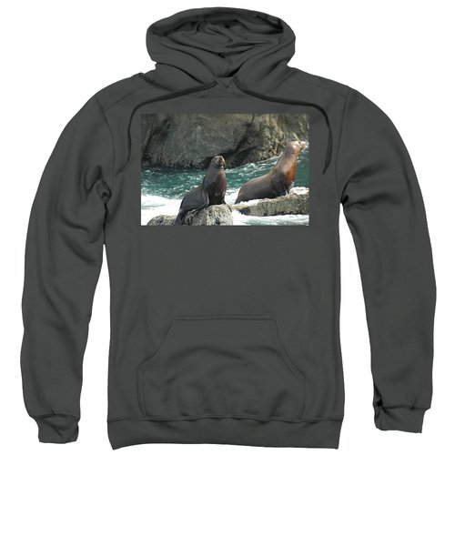 Friends In Alaska Sweatshirt