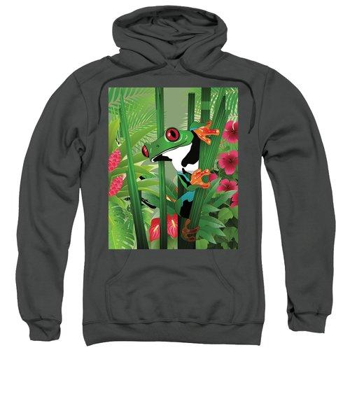 Frog 02 Sweatshirt