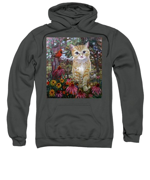 Front Yard Kitty Sweatshirt