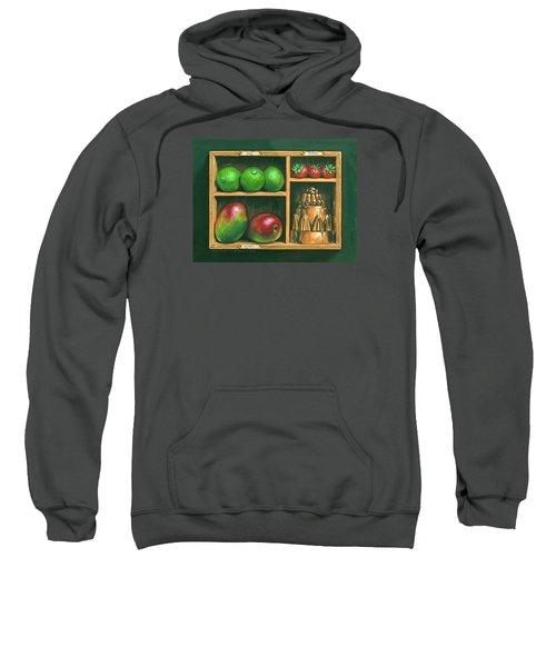 Fruit Shelf Sweatshirt by Brian James