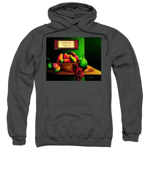Fruits Still Life Sweatshirt