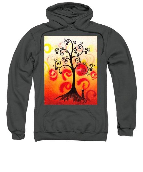 Fun Tree Of Life Impression Iv Sweatshirt