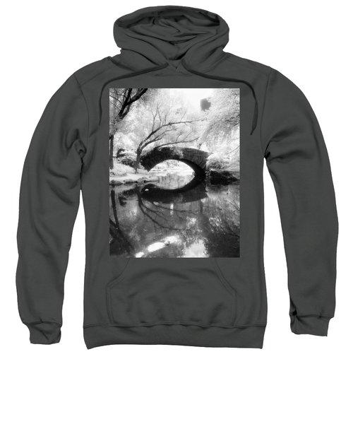 Central Park Photograph - Gapstow Bridge Vertical Sweatshirt