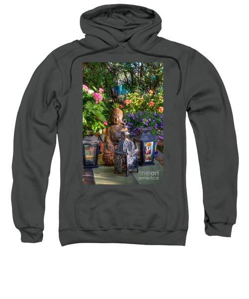 Garden Meditation Sweatshirt