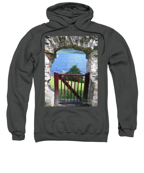 Sweatshirt featuring the photograph Gateway To Loch Ness by Denise Railey