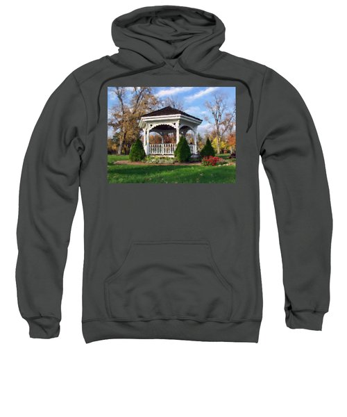 Gazebo At Olmsted Falls - 1 Sweatshirt