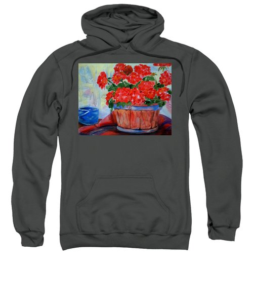 Geraniums Sweatshirt