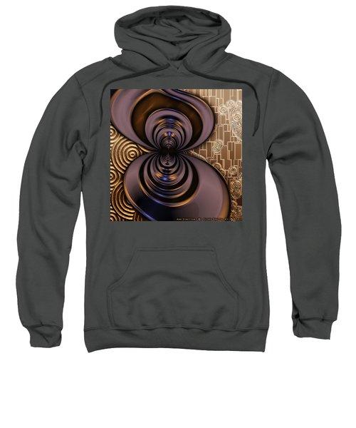 Gilded Fractal 2 Sweatshirt
