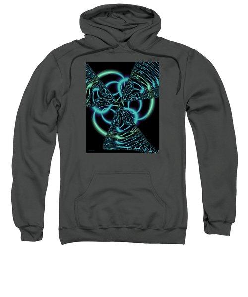 Sweatshirt featuring the digital art Gingezel 1 The Limit by Judi Suni Hall
