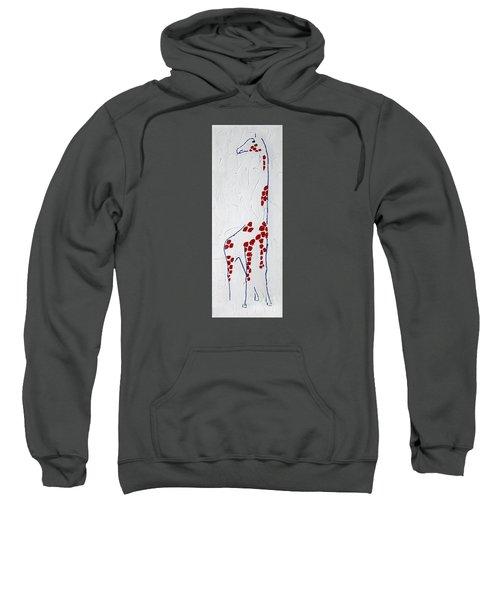 Giraffe Abstract Sweatshirt