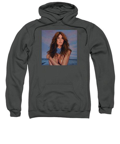 Gisele Bundchen Painting Sweatshirt