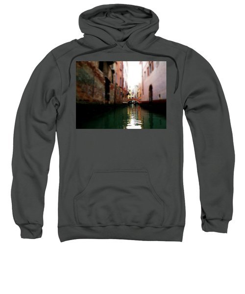 Gliding Along The Canal  Sweatshirt