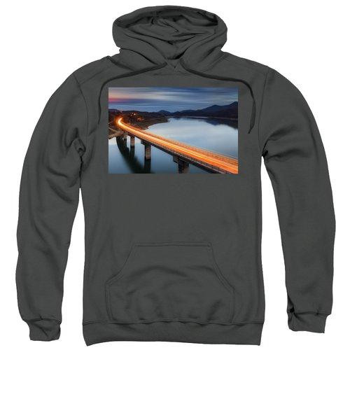Glowing Bridge Sweatshirt