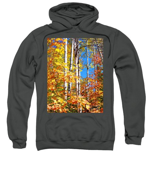 Gold Autumn Sweatshirt