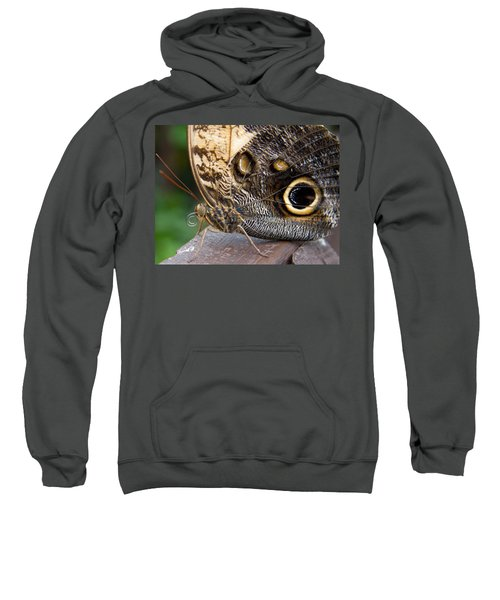 Golden Butterfly Sweatshirt