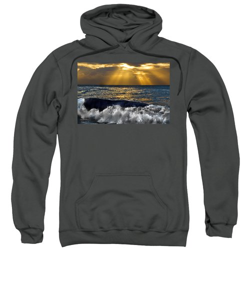 Golden Eye Of The Morning Sweatshirt by Miroslava Jurcik