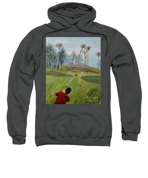 Golfing At Monarch Sweatshirt