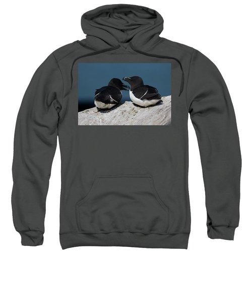 Gossip Mongers Sweatshirt by Brent L Ander