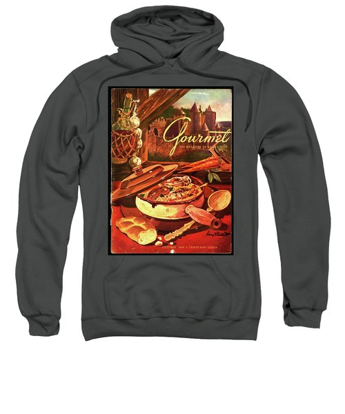 Gourmet Cover Featuring A Pot Of Stew Sweatshirt