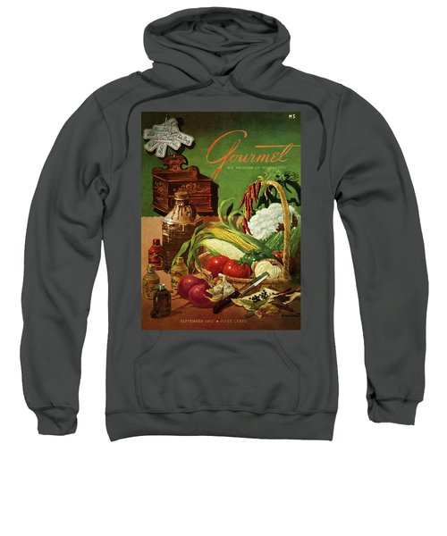 Gourmet Cover Featuring A Variety Of Vegetables Sweatshirt