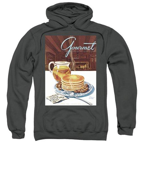Gourmet Cover Of Pancakes Sweatshirt