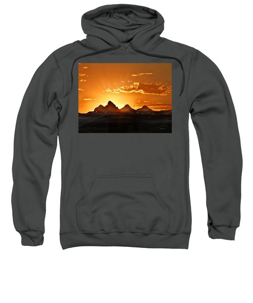 Grand Teton Sunrise Sweatshirt