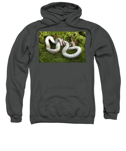 Grass Snake Playing Dead Sweatshirt