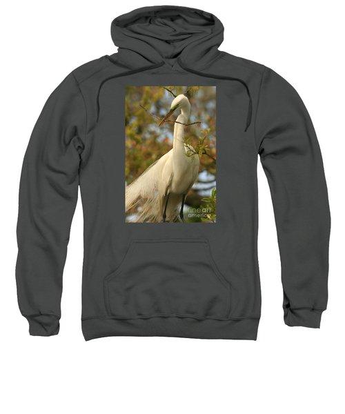 Great Egret Impressions Sweatshirt