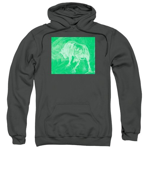 Green Bull Negative Sweatshirt