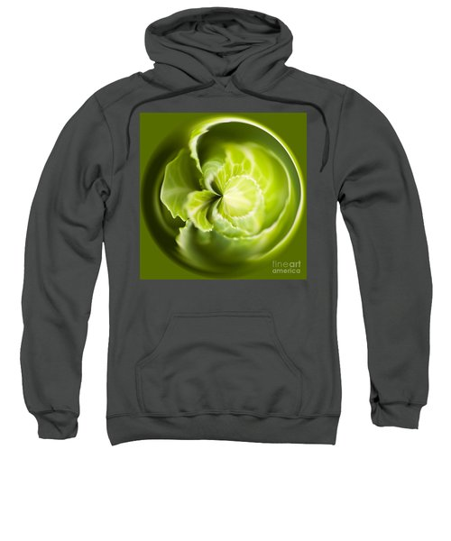 Green Cabbage Orb Sweatshirt