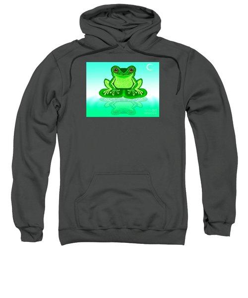 Green Reflections Sweatshirt