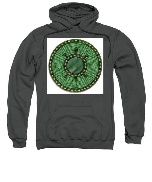 Green Shell Turtle Sweatshirt