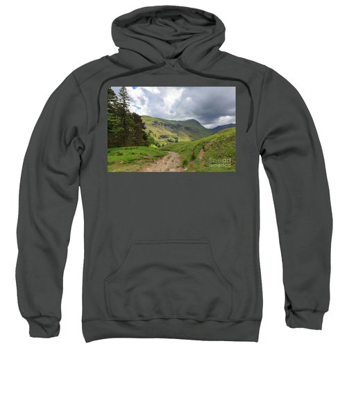 Grisedale From Lanty's Tarn In The Lake District Sweatshirt