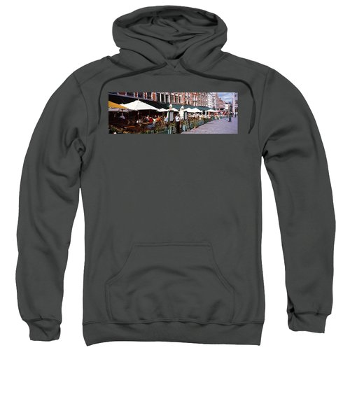 Group Of People In A Restaurant Sweatshirt