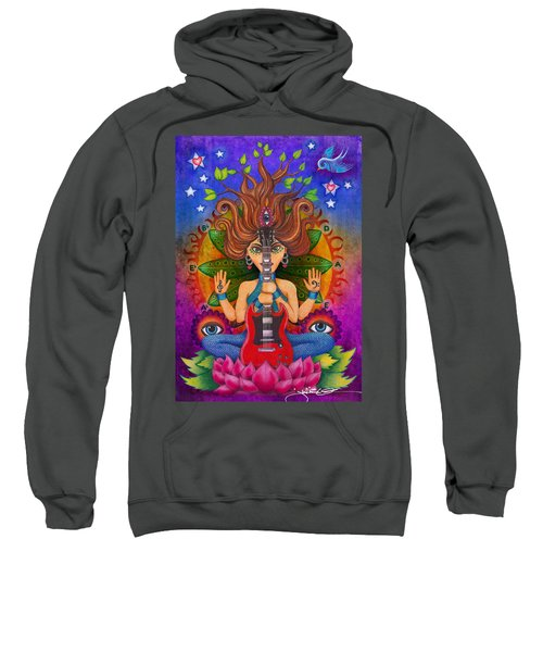 Guitar Goddess Sweatshirt