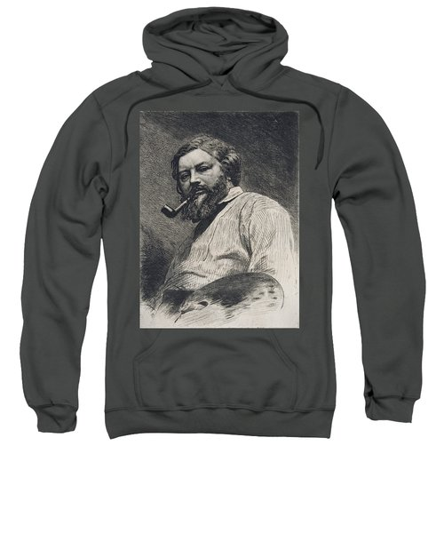 Gustave Courbet Sweatshirt