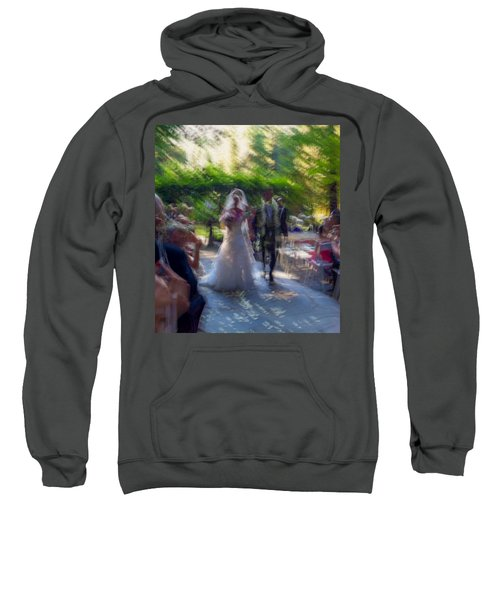 Sweatshirt featuring the photograph Happily Ever After by Alex Lapidus