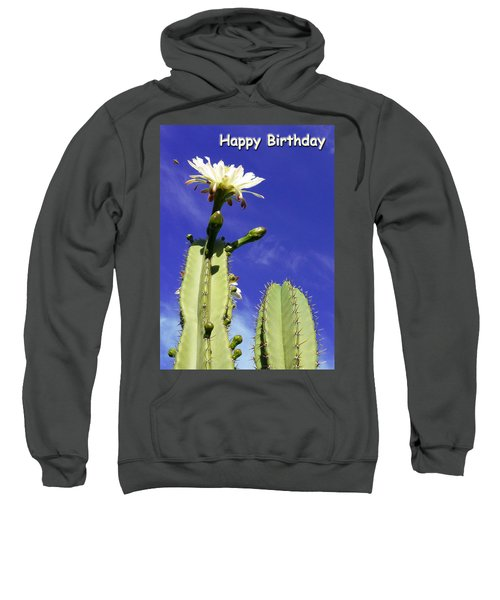 Happy Birthday Card And Print 17 Sweatshirt