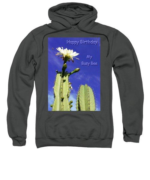 Happy Birthday Card And Print 20 Sweatshirt