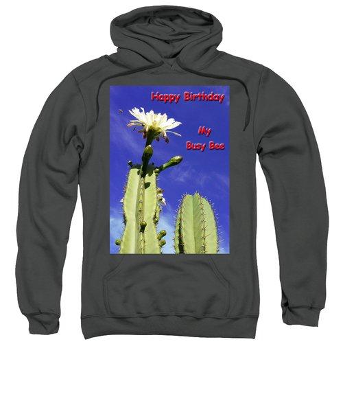 Happy Birthday Card And Print 21 Sweatshirt