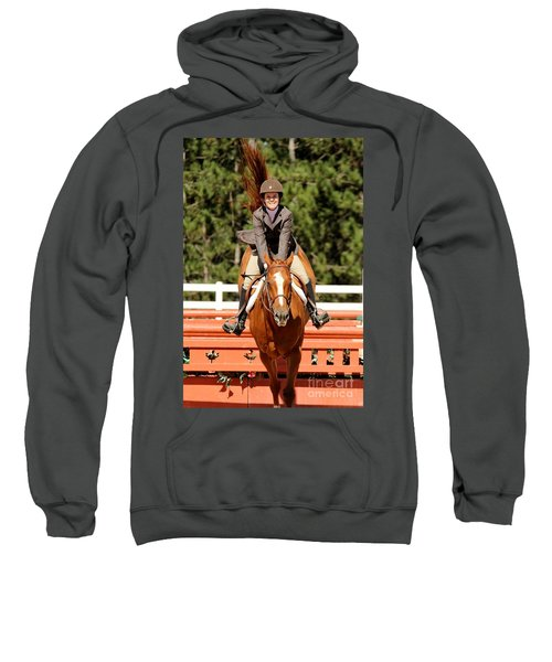 Happy Hunter Horse Sweatshirt