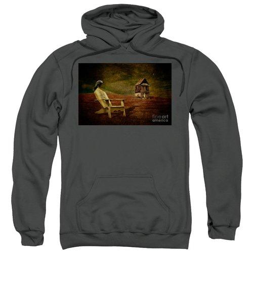 Hard Times Sweatshirt by Lois Bryan