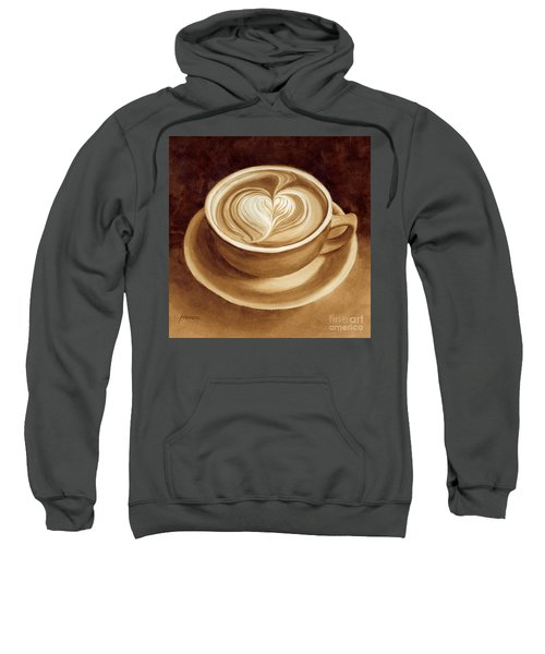 Heart Latte II Sweatshirt