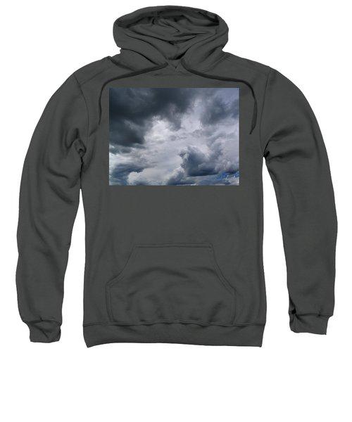 Heaven Looks Angry Sweatshirt