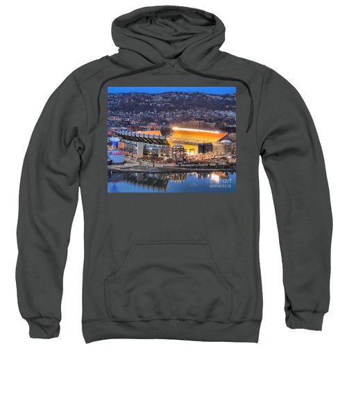 Heinz Field At Night Sweatshirt